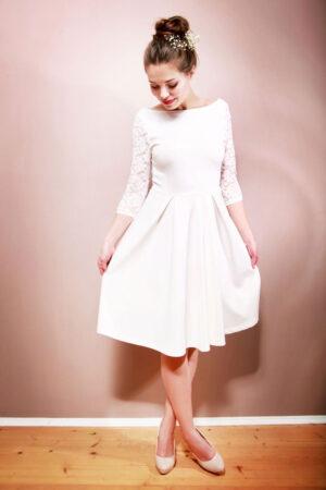 Brautkleid Camille cremeweiß