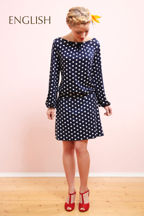 sewing pattern dress Valeria